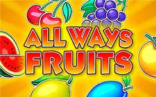 Игровой автомат Allways Fruits